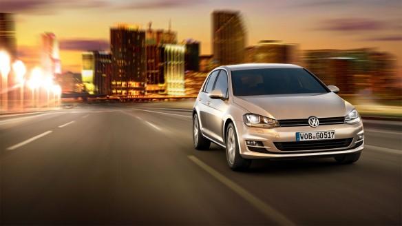 VW Golf VII Blue-e-Motion teilweise aus Aluminium und Carbon