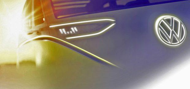 VW mit neuer Minibus-Studie in Detroit