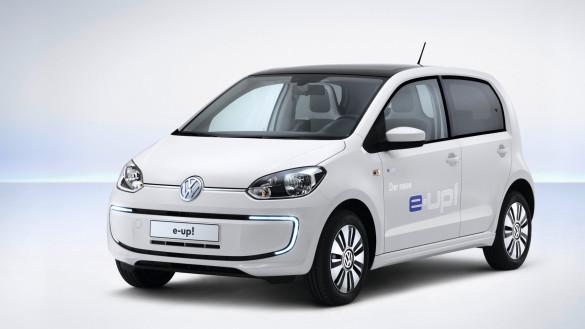 VW e-up! erhält 150 km Reichweite