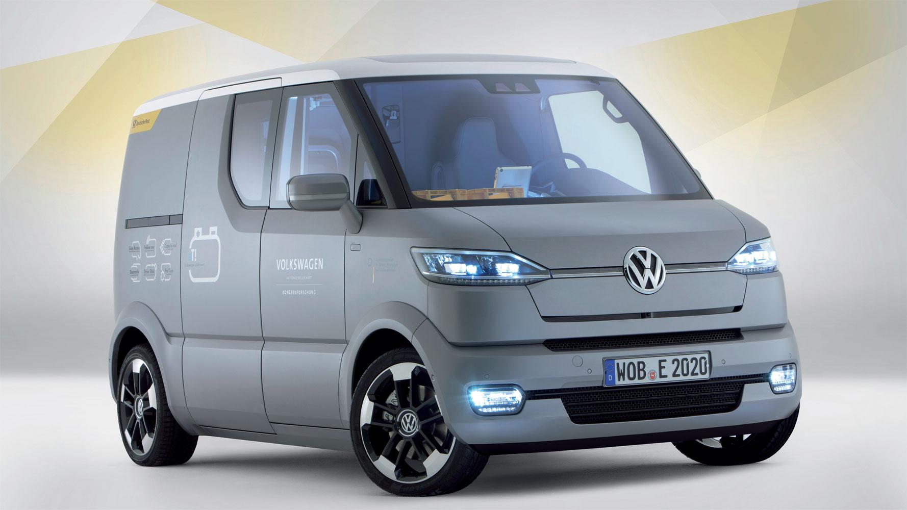 Elektro-Transporter VW eT! auf der IAA Nutzfahrzeuge
