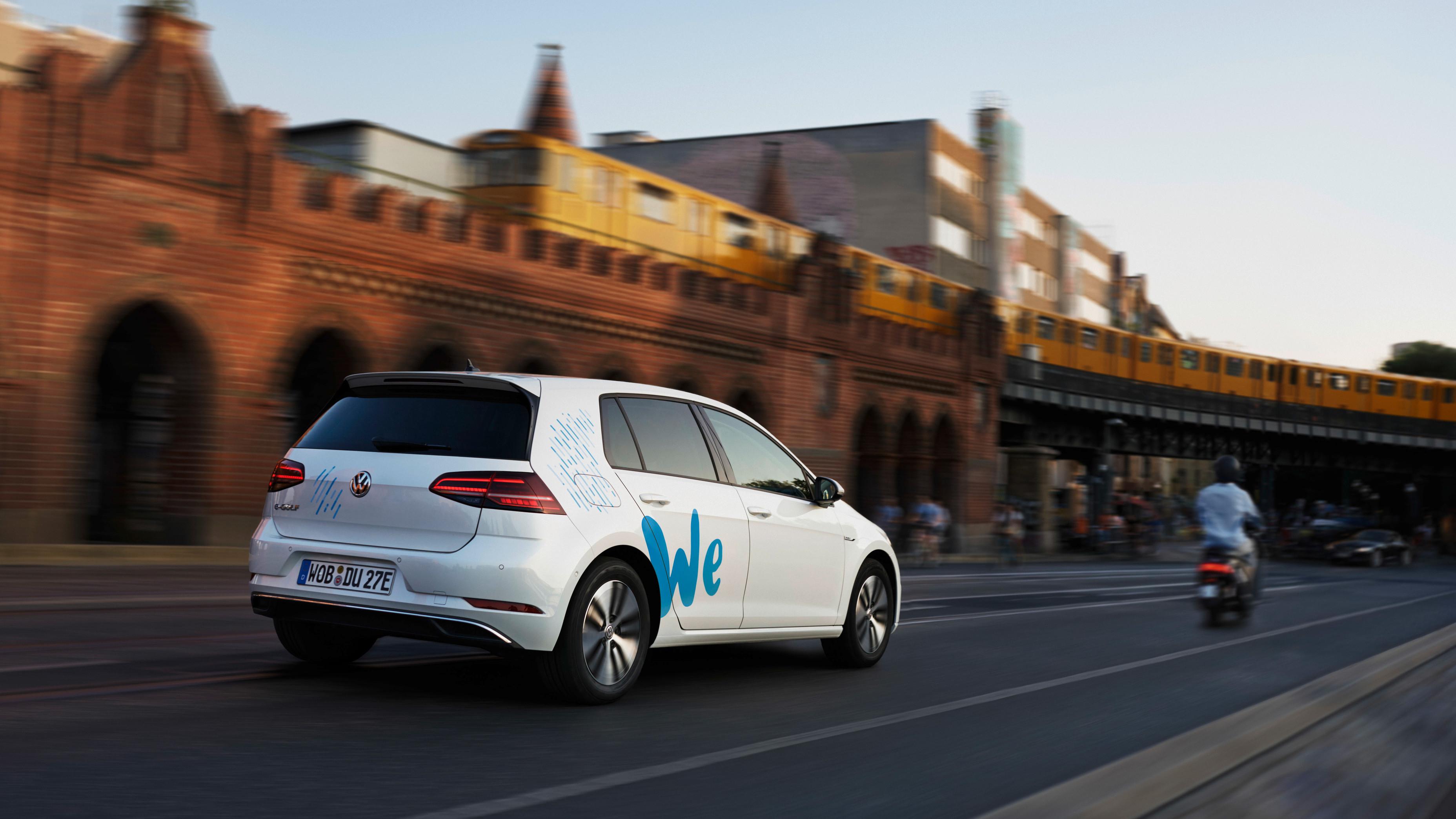 Volkswagen startet 2019 E-Carsharing We Share in Berlin
