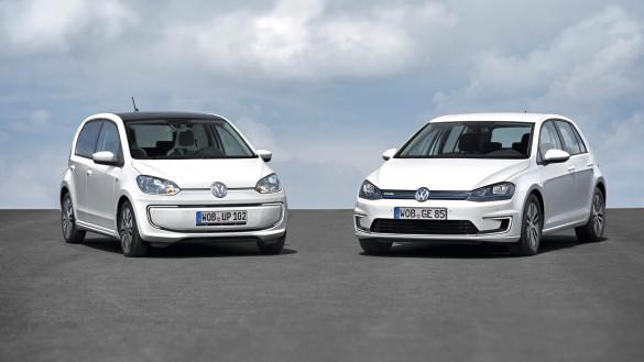 Volkswagen e-Golf und e-up! Weltpremiere IAA 2013