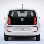Volkswagen e-up! von hinten