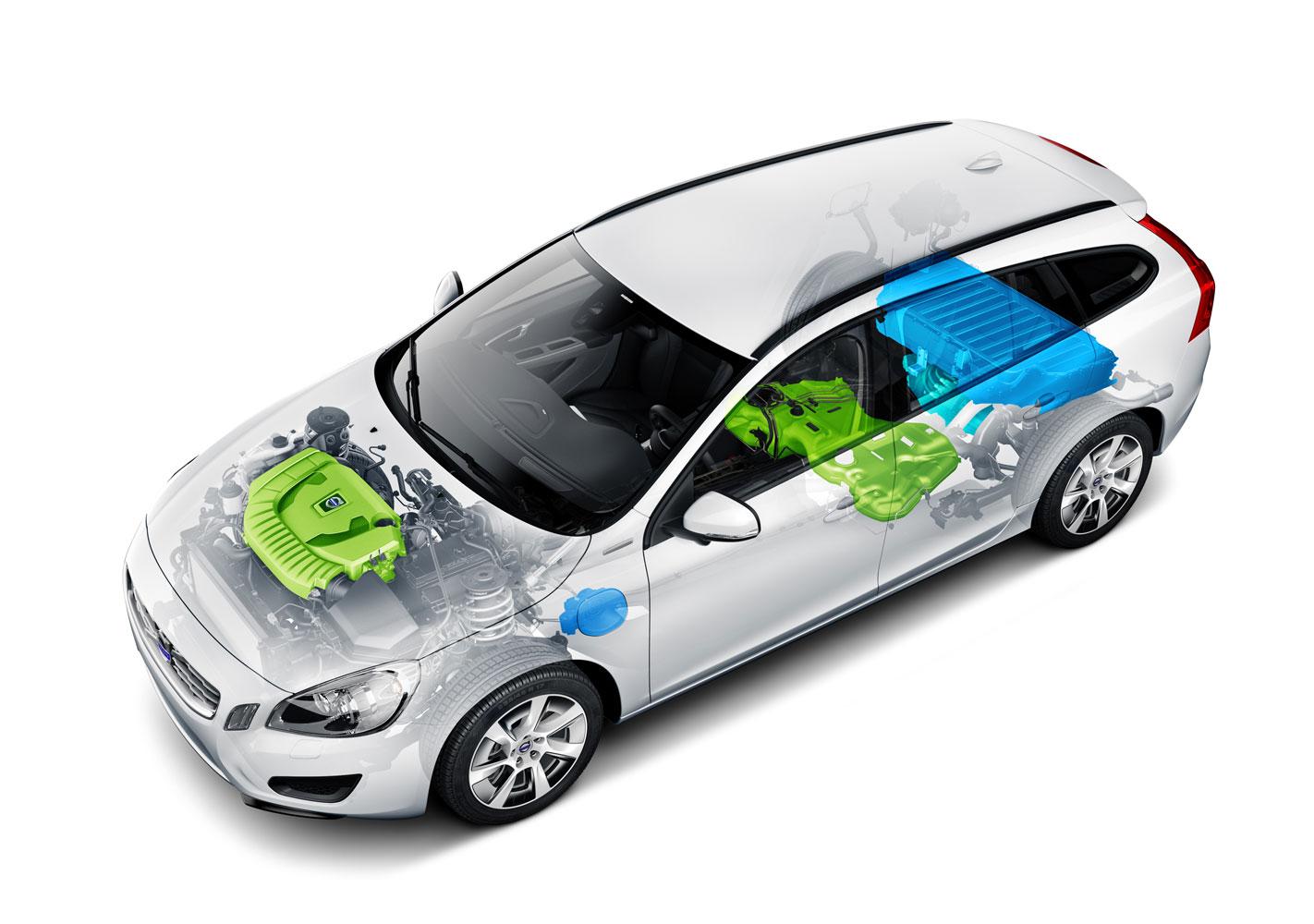 volvo v60 hybrid ist sicherstes auto mit elektromotor. Black Bedroom Furniture Sets. Home Design Ideas
