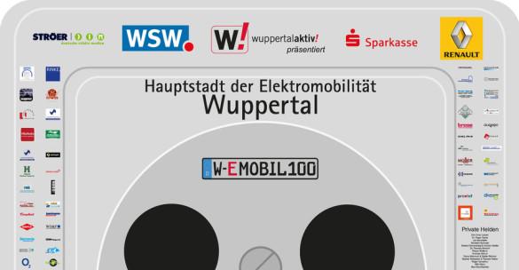 W-EMOBIL feiert 100 neue Elektroautos - größte Steckdose Deutschlands