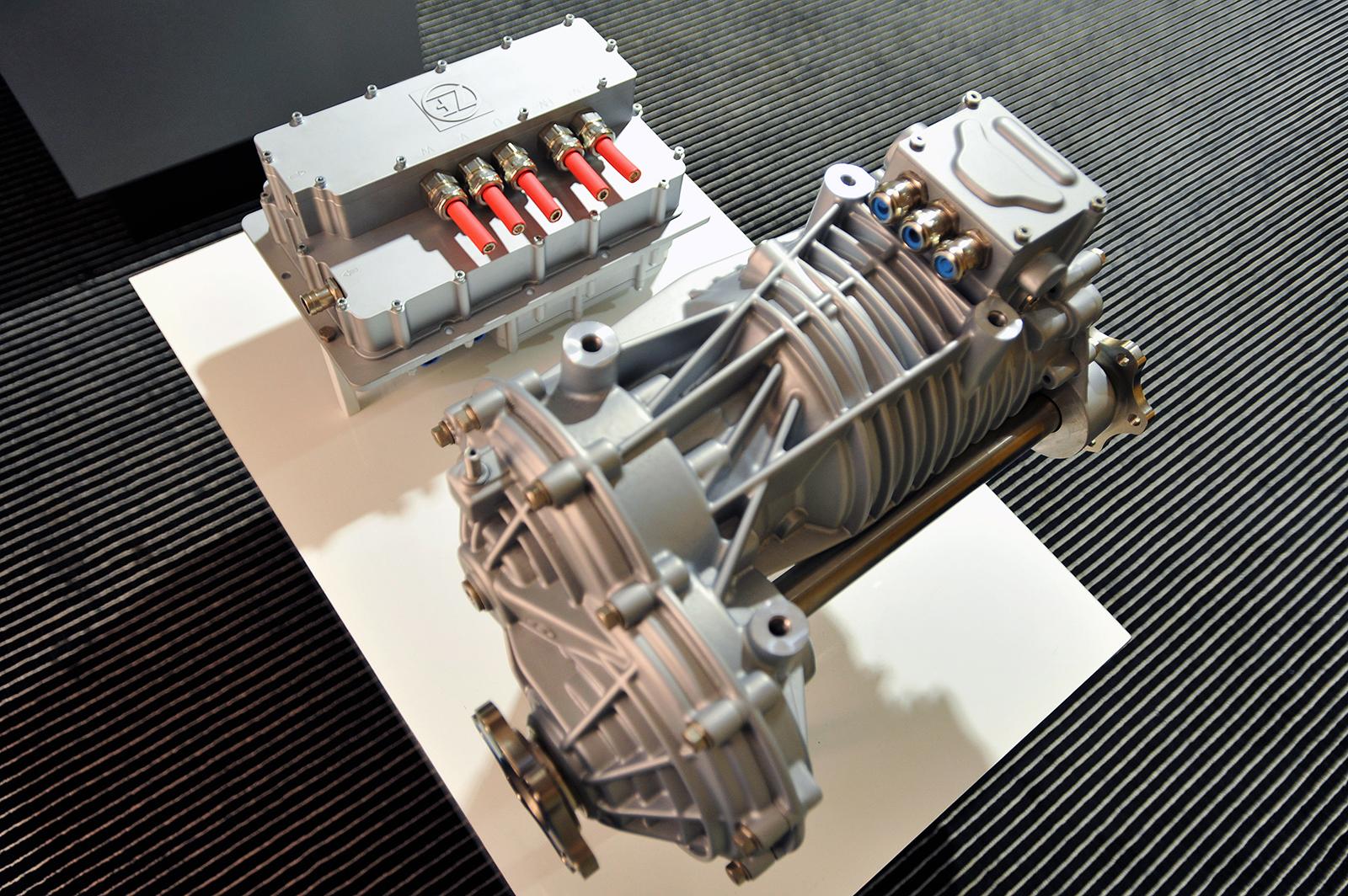 EVD1: ZF präsentiert elektrisches Achsmodul   Elektroauto Blog
