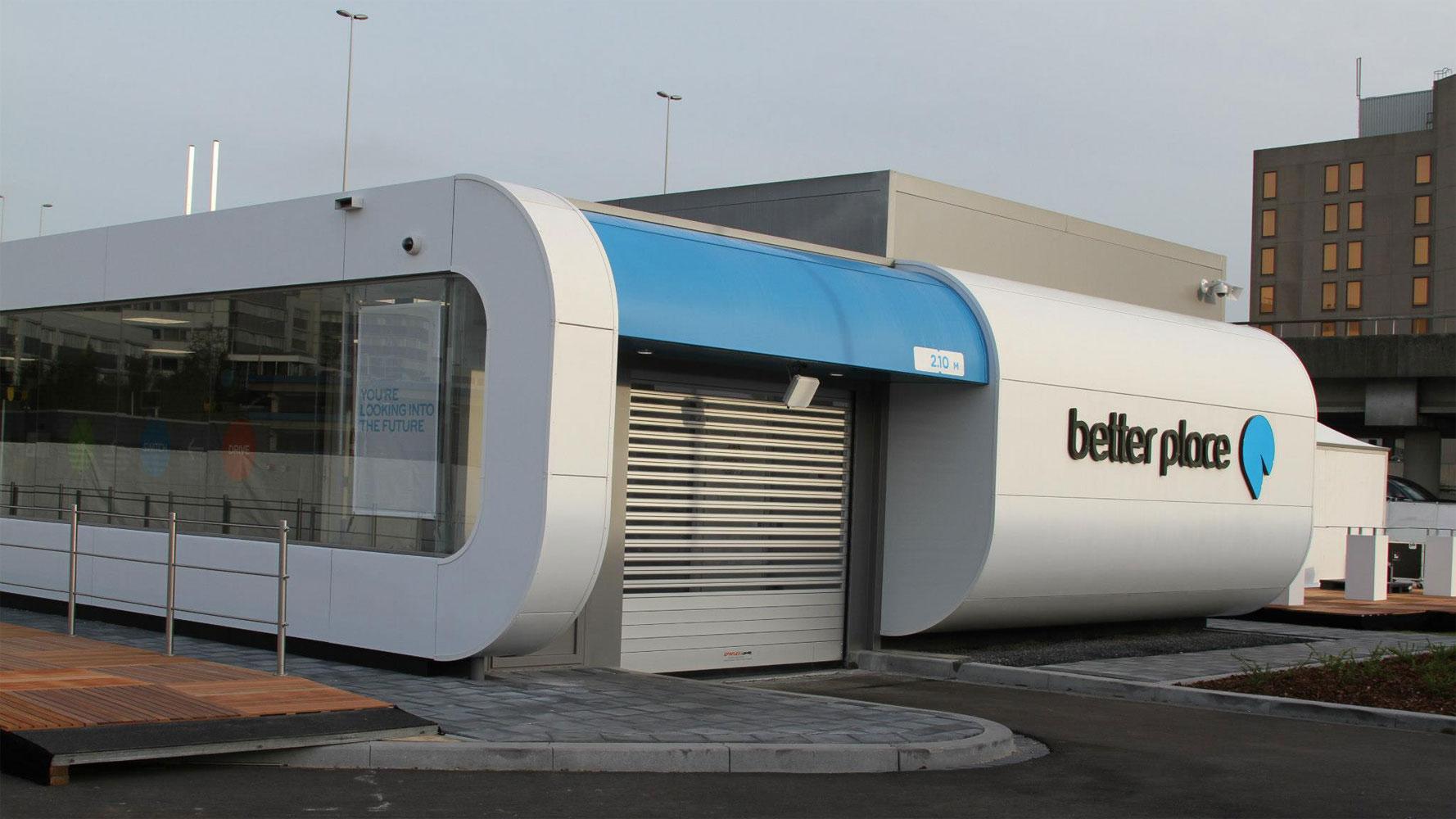 Better Place: Elektro-Taxi zwischen Amsterdam-Schiphol