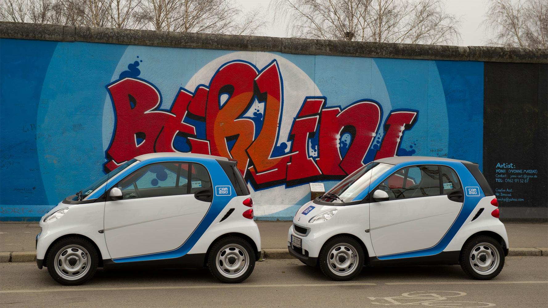 Studie untersucht E-Autos beim Carsharing