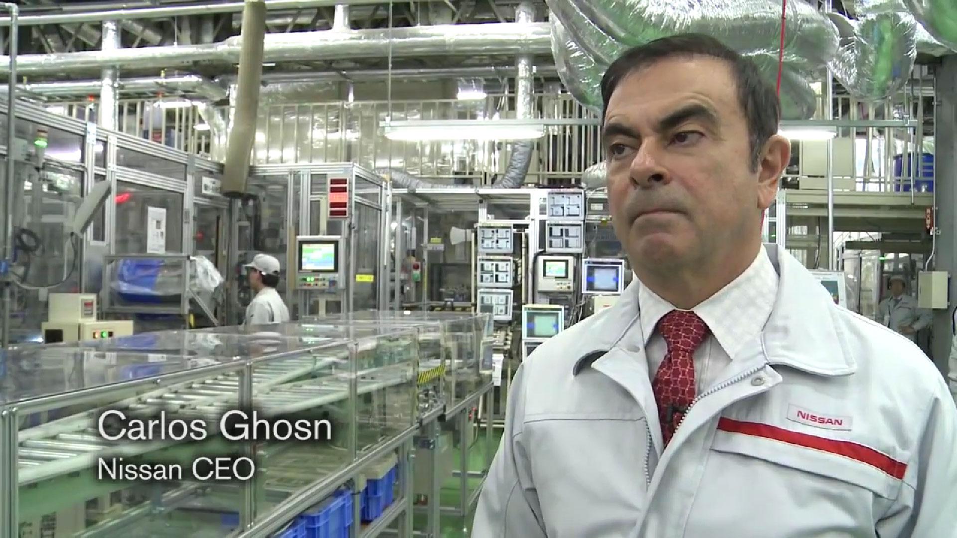 Carlos Ghosn über Wiederverwertung von Lithium-Ionen Batterien [Video]