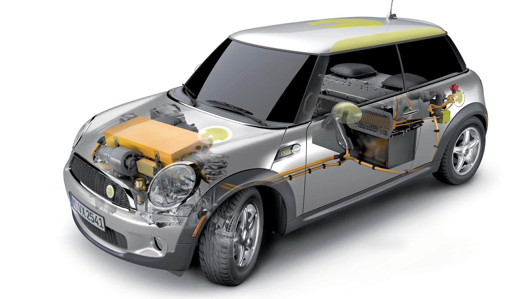 BMW Mini E: gebrauchte Energiespeicher für Haus