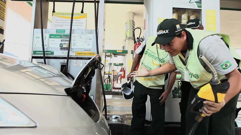 Nissan Leaf Tankstelle