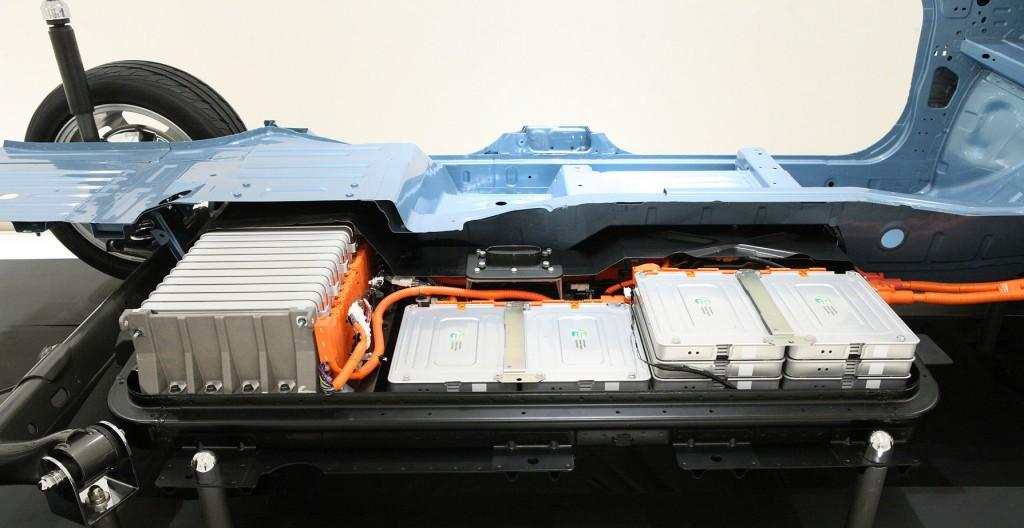 Nissan Leaf Batterie
