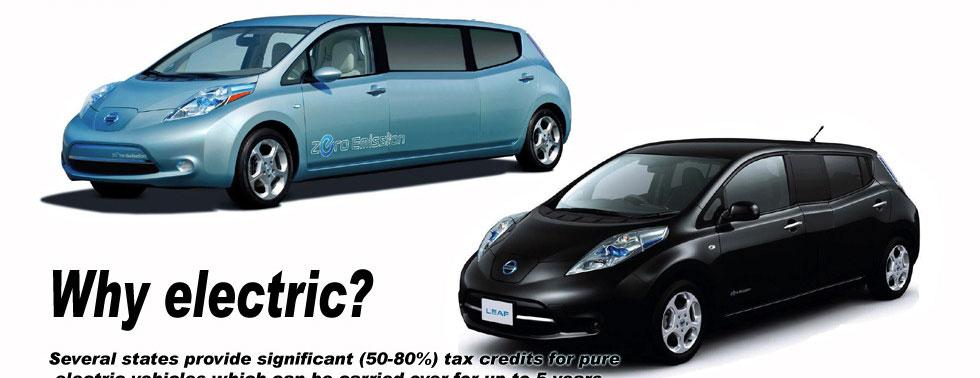 Nissan Leaf Stretchlimousine