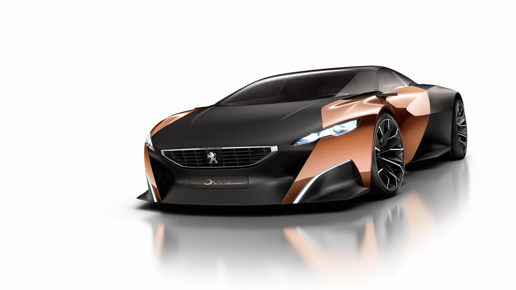 Peugeot Onyx: Hybrid-Concept auf Pariser Autosalon [Video]