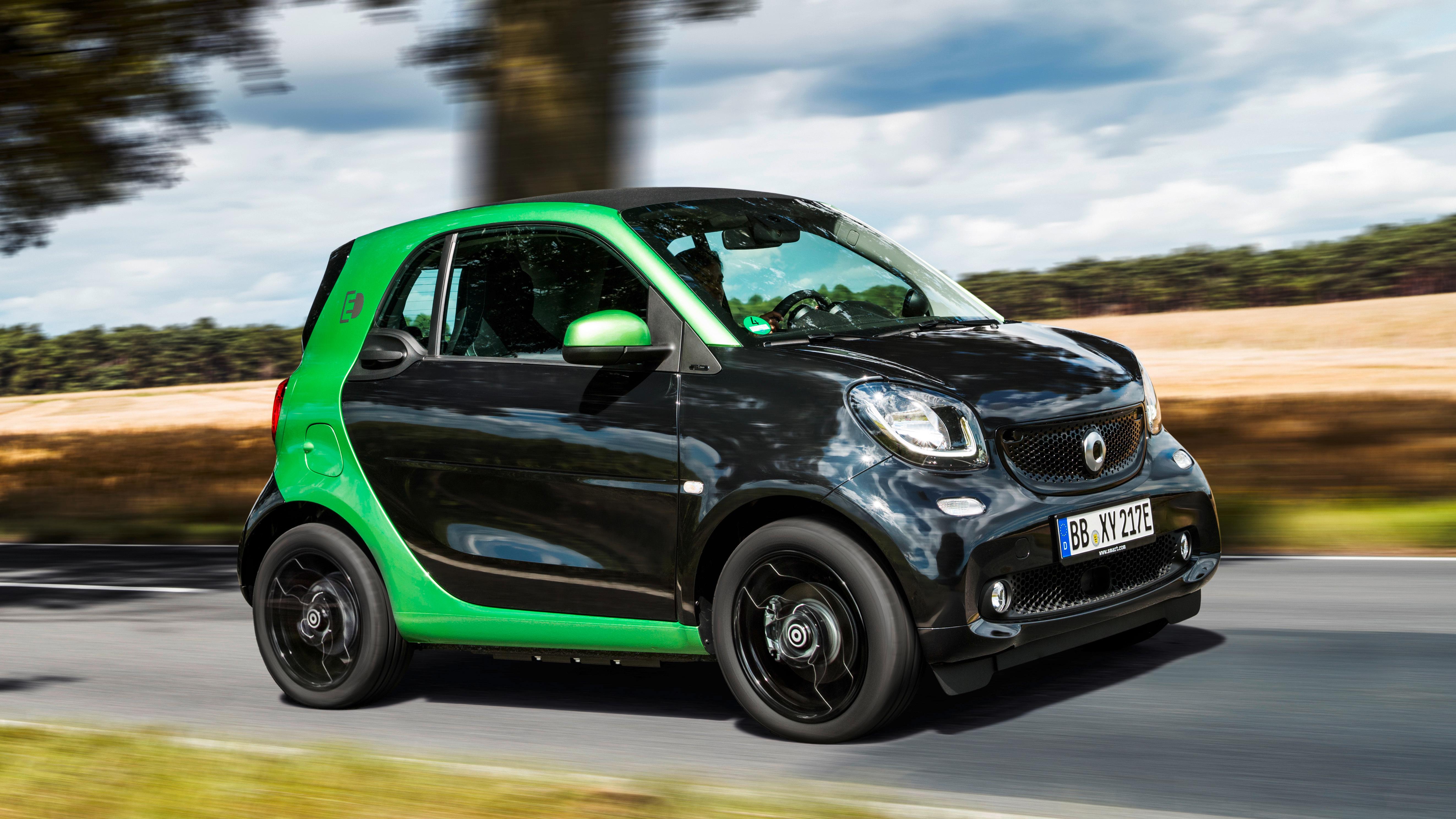 2.764 neue Elektroautos im Januar, smart fortwo vor Kia Soul EV