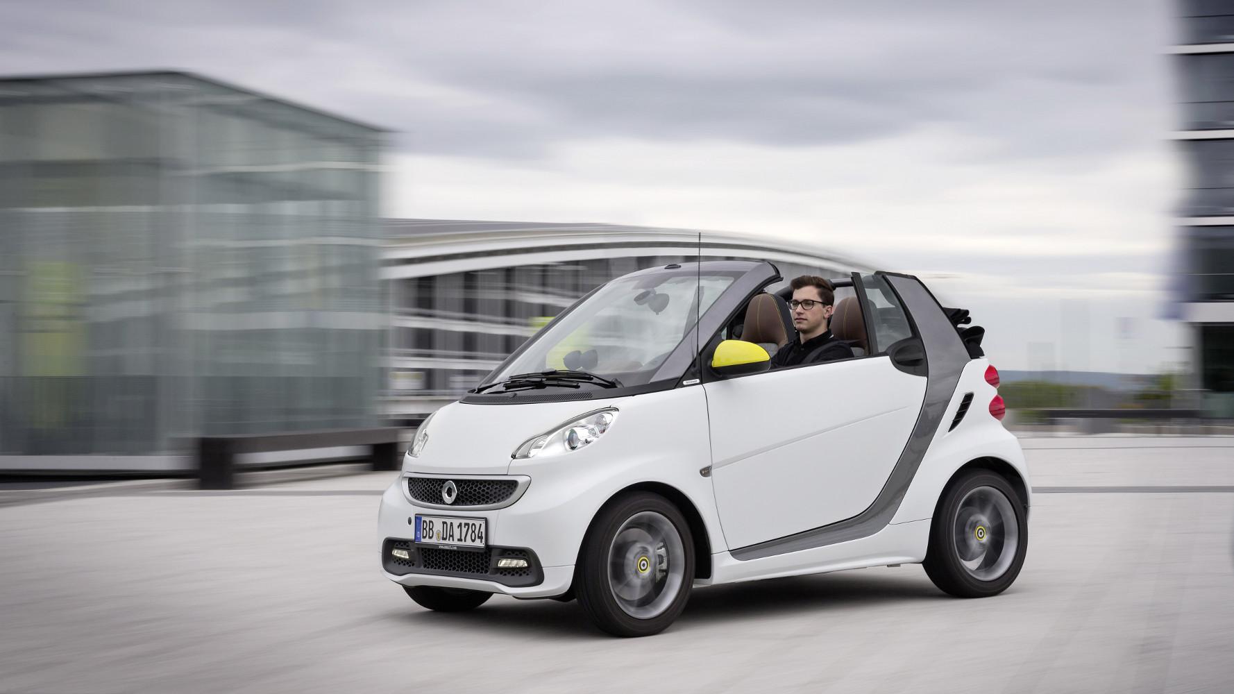 Zulassungszahlen Oktober 2013: smart ed vor BMW i3