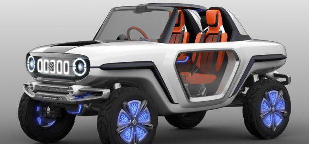 Suzuki zeigt elektrische Offroad-Studie e-Survivor