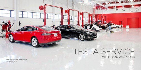 Tesla Model S Service Kosten, selbständiges Anfahren als Option