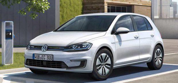 VW enthüllt neuen e-Golf in Los Angeles