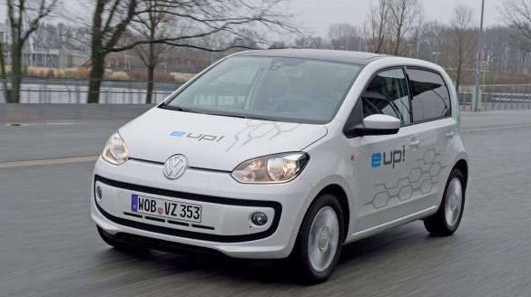 Der Preis des VW e-UP! wird unter 25.000 Euro liegen