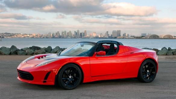de Mestre Weltumrundung Tesla Roadster Unfall